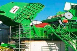 Parfer Siti Plantas de trituración serie FR