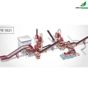REF101 Planta Fragmentadora Parfer Siti FR1821