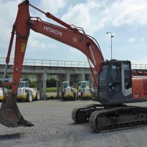 REF1008-HITACHI excavator ZX210LCH-3