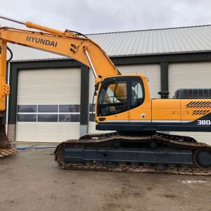 REF1005-HYUNDAI excavator R380LC-9
