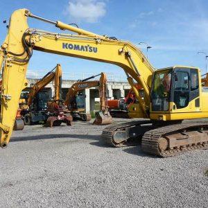 REF1007-KOMATSU excavator PC210LC-8