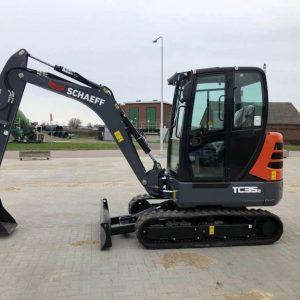 REF1012-SCHAEFF excavator TC35