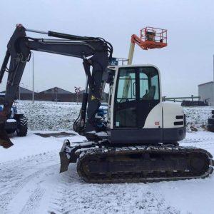 REF1011-TEREX SCHAEFF excavator TC125