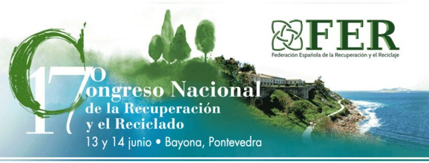 Pac Machinery se conciencia de la Recuperación y el Reciclaje asistiendo a la FER como expositor