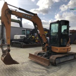 REF1013 Retroexcavadora CASE excavator CX50B