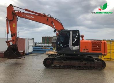 REF1019 Retroexcavadora HITACHI excavator ZX210LCH-3