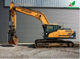 REF1016 Excavadora HYUNDAI excavator HX300L