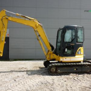 REF1014 Retroexcavadora KOMATSU excavator PC55MR-3