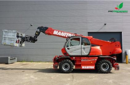 REF1027 Elevador MANITOU Roto-Telehandler MRT 2550 Privilege 4x4x4