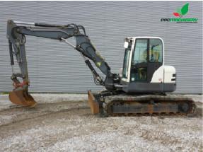 REF1015 Retroexcavadora TEREX excavator TC125